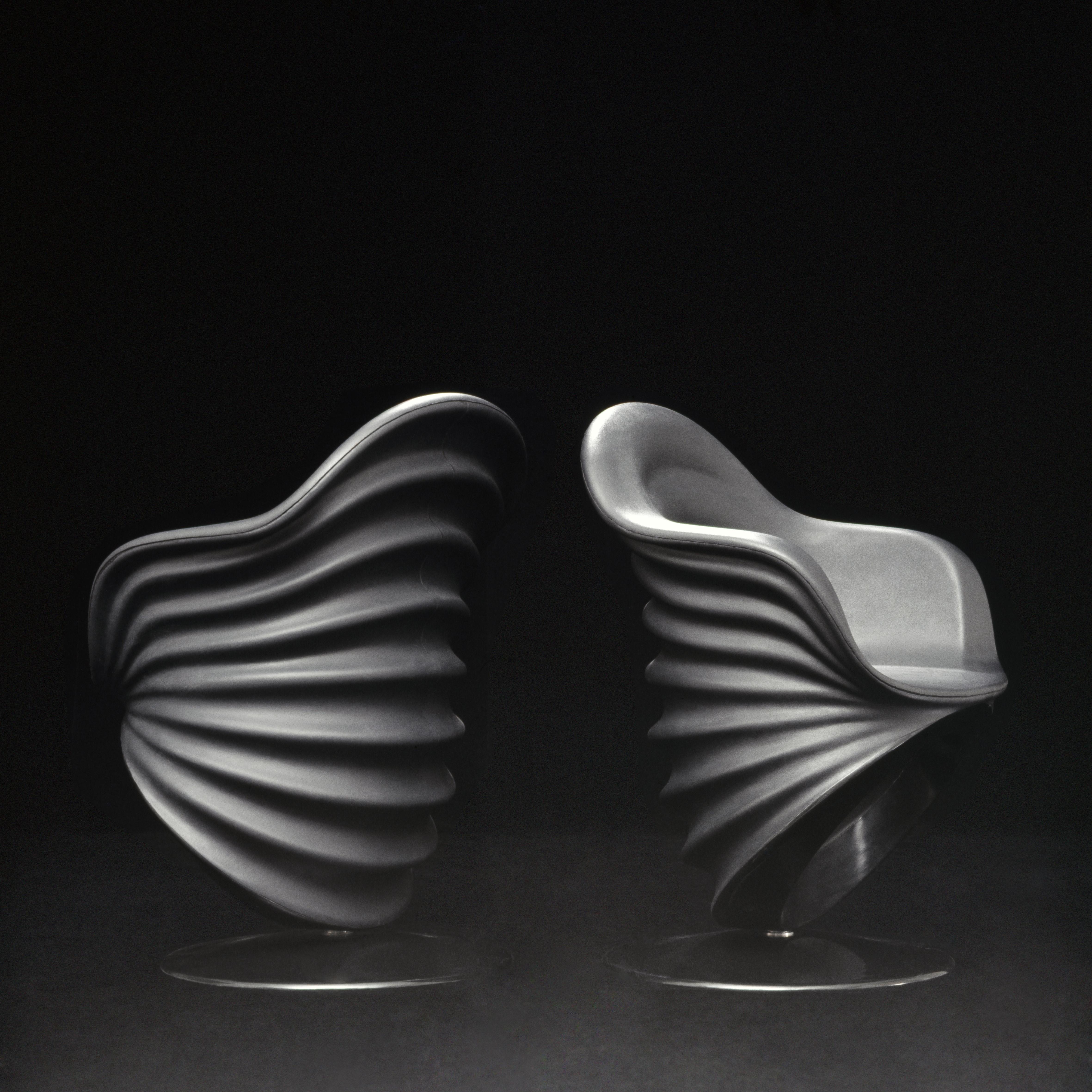 Teneride, sedia per ufficio, prototipo, Cassina 1970