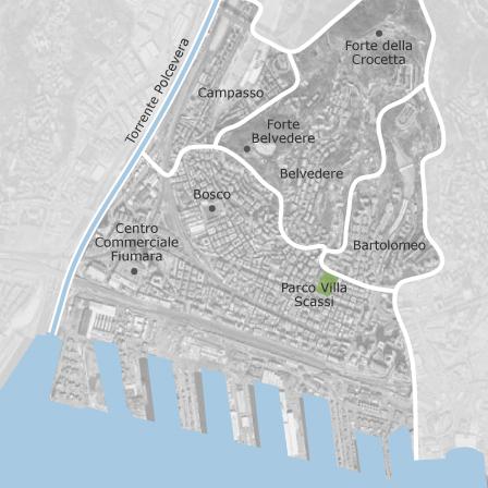Italien Karta Genova.Karta Over Centro Ovest Genova Kommuner Med Annonser Av Bostader