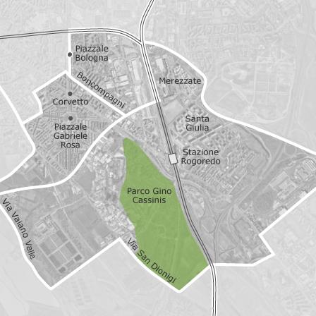 Mappa di corvetto rogoredo milano comuni con annunci di for Case affitto milano privati