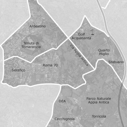 Mappa di ardeatino appio pignatelli cecchignola roma for Annunci affitti roma