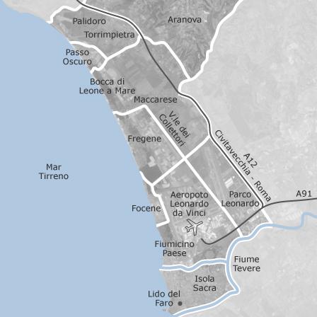 Cartina Italia Civitavecchia.Mappa Di Fiumicino Roma Comuni Con Annunci Di Case In Vendita Idealista