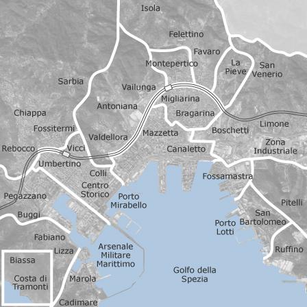 Cartina Italia La Spezia.Mappa Di La Spezia Comuni Con Annunci Di Case In Vendita Idealista