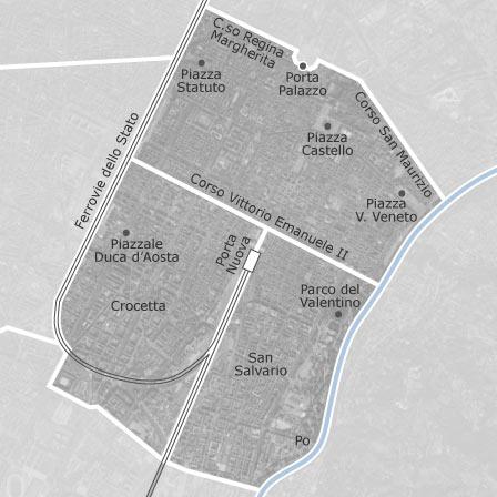 Mappa di Centro Crocetta